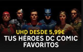 Pelis DC en Rakuten Tv UHD (4K)
