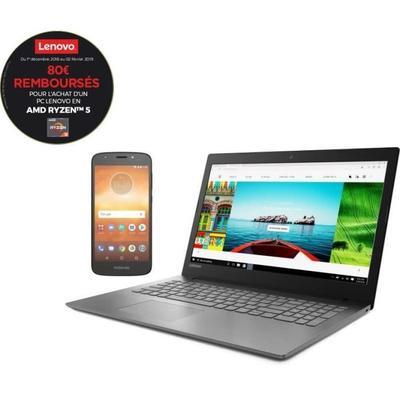 LENOVO Ideapad 330 -Ryzen 5, 6GB + 1TB + SSD de 128GB - Vega 8 + MOTOROLA E5