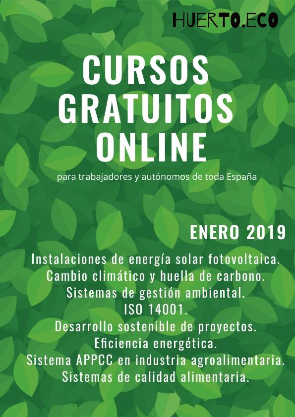 Cursos de agricultura ecológica y energías renovables