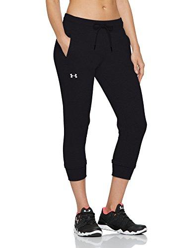 Pantalón Underarmour de felpa UA Slim Leg Crop para mujer (Talla S)
