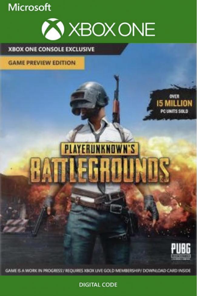 XBOX ONE: PlayerUnknown's Battlegrounds + Assasins Creed Unity