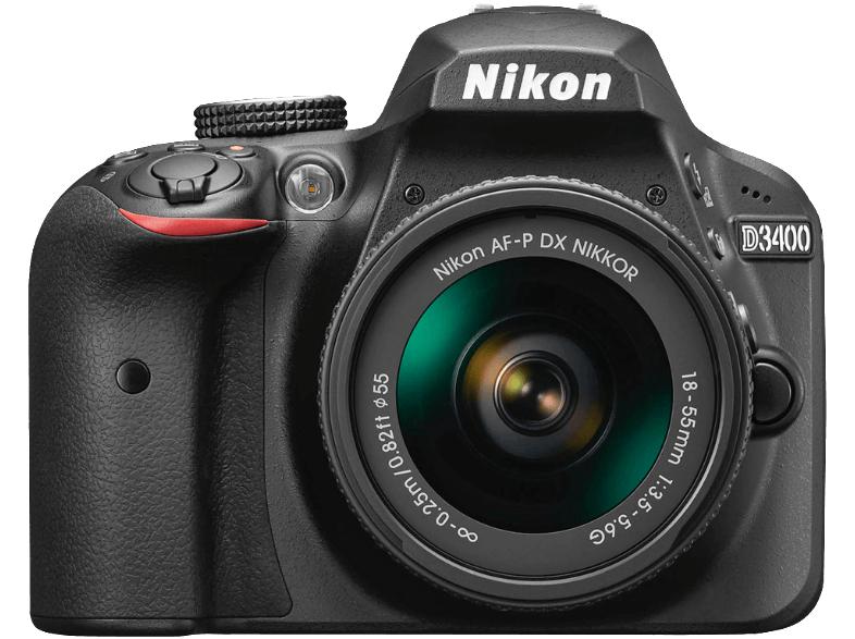 Cámara Réflex Nikon D3400 + 18-55mm