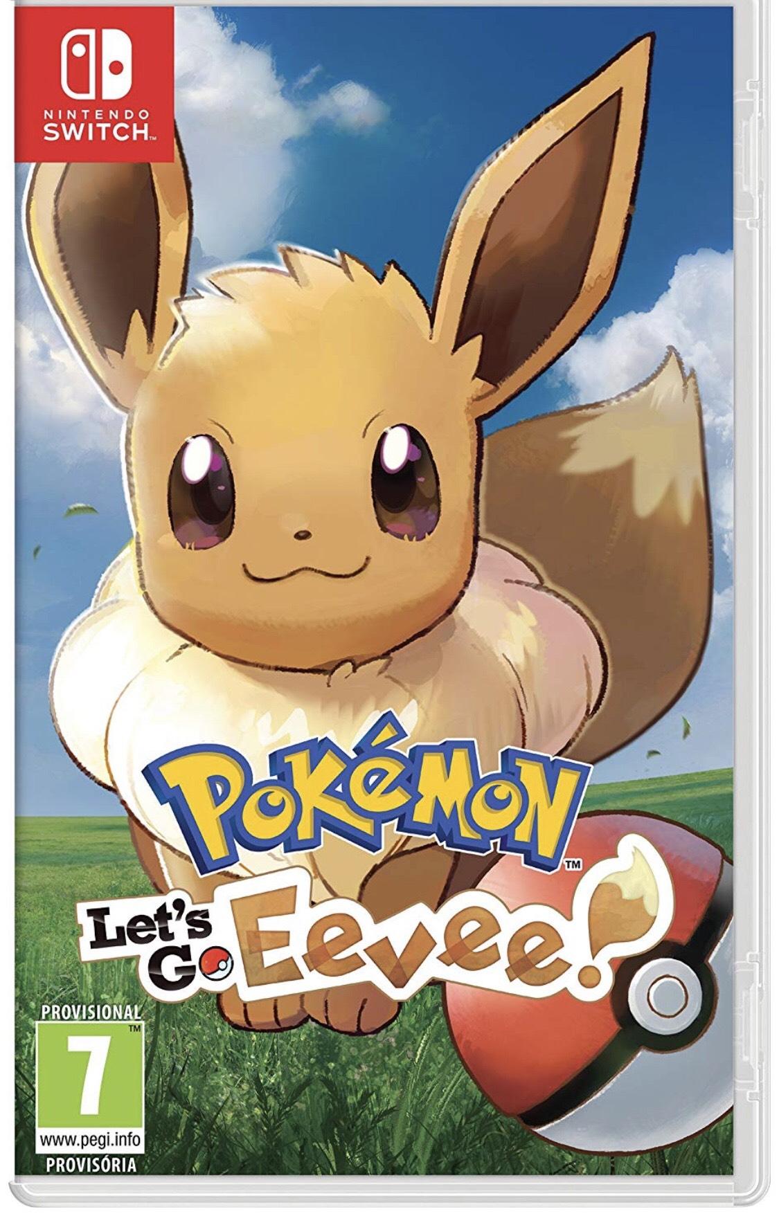 Nintendo Switch - Pokémon: Let's Go, Eevee!