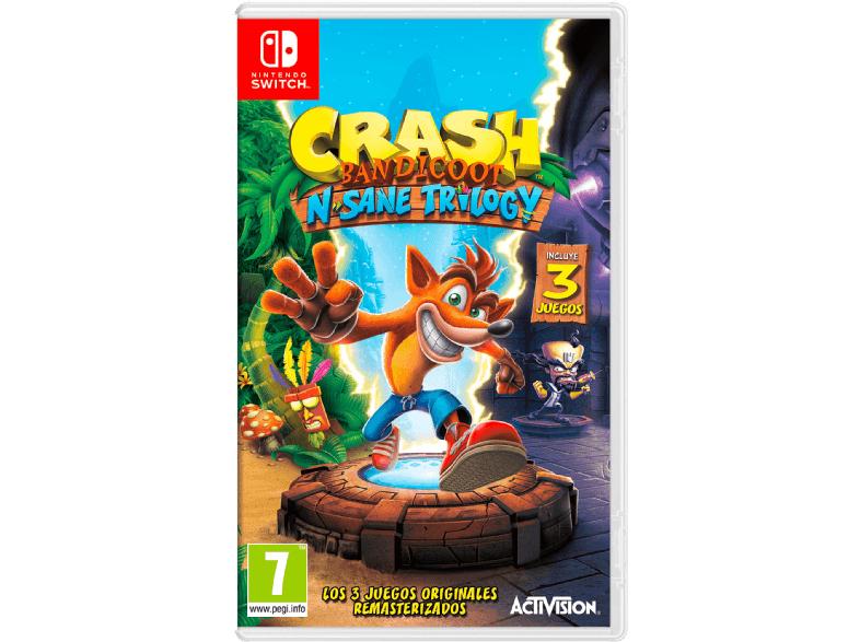 Crash Bandicoot para Switch a 25€!!