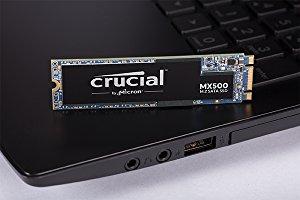 Crucial MX500 SSD de 1 TB (M.2 2280, 3D NAND, SATA)