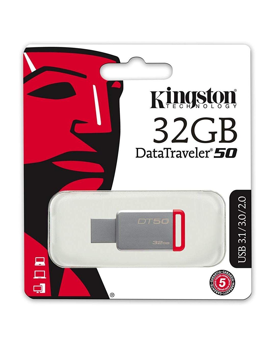 Kingston DT50/32GB -- Producto Plus