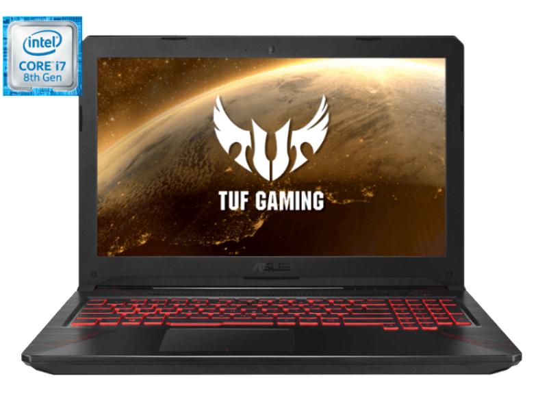 Portátil Gaming - Asus FX504GE-DM286, i7-8750H, 8GB RAM, 256GB SSD+1TB, GTX1050Ti FreeDos