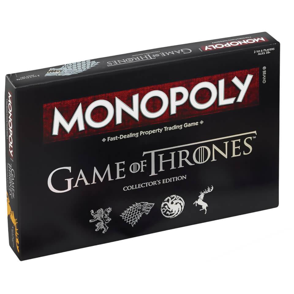 Juego de mesa Monopoly Edición Deluxe - Juego de Tronos