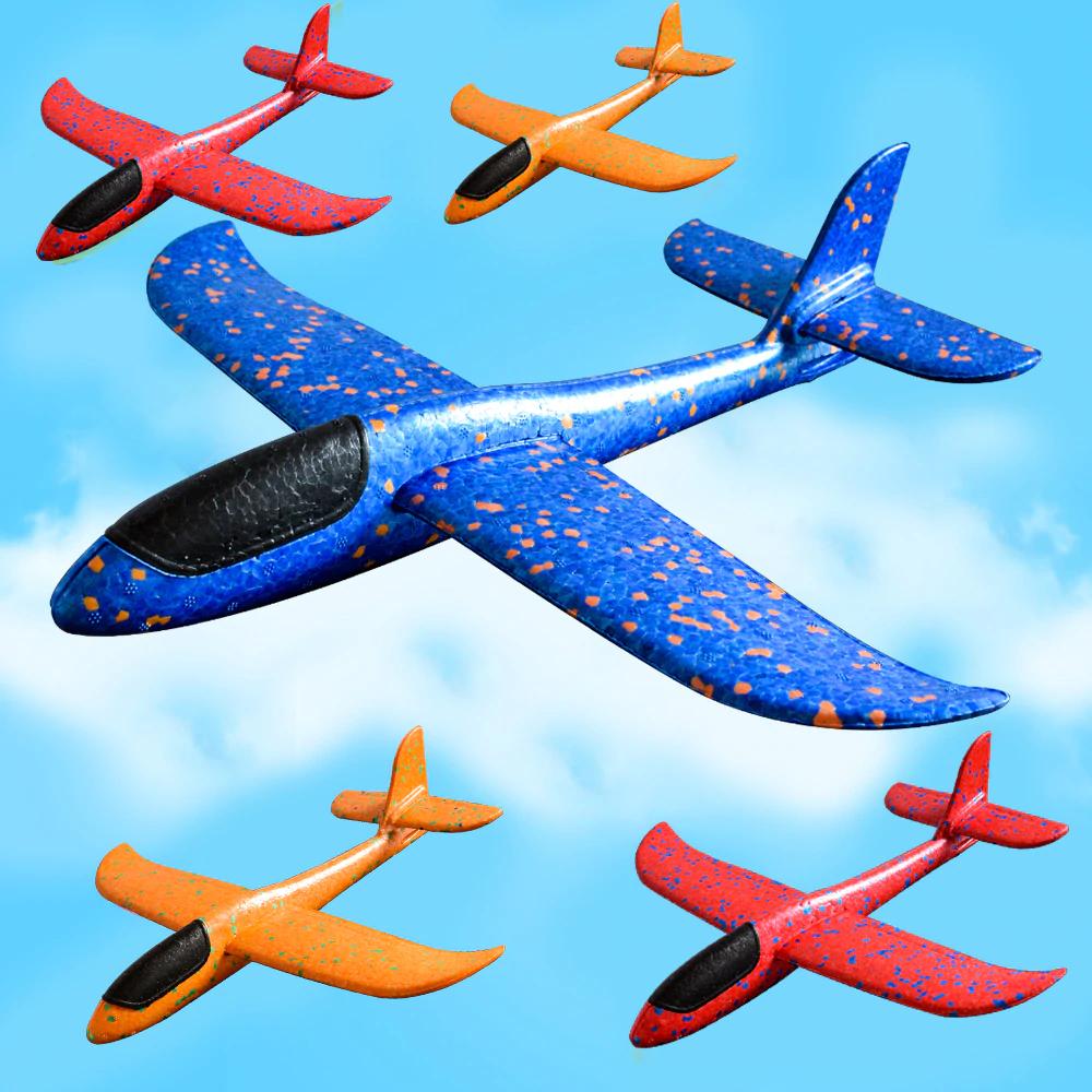 Avion de gomaespuma  desmontable