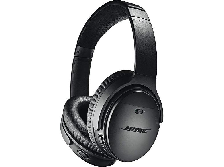 Auriculares inalámbricos - Bose QuietConfort 35 II, Micrófono, NFC, Bluetooth, Negro
