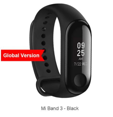 Xiaomi Mi Band 3 - Desde España