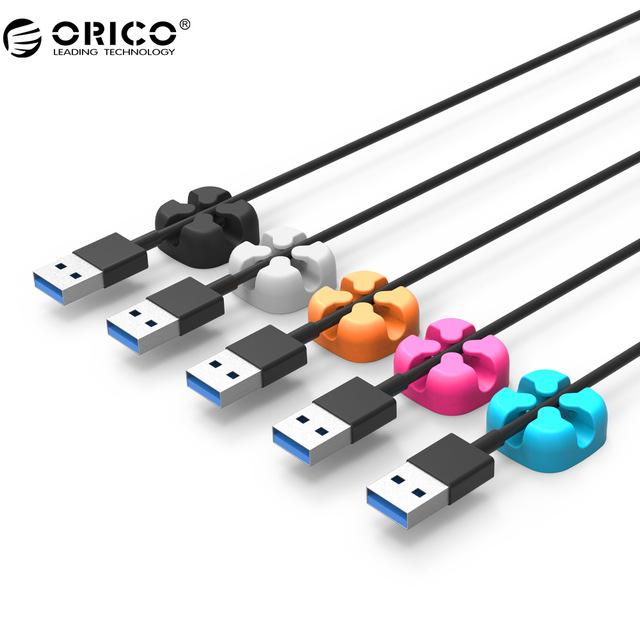 Soporte para Cables, Clip organizador