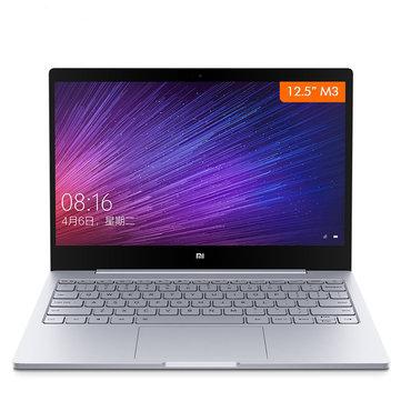Xiaomi Mi Notebook Air 12.5 Inch Windows 10 7th Intel Core m3-7Y30 4GB RAM 128GB SSD Laptop