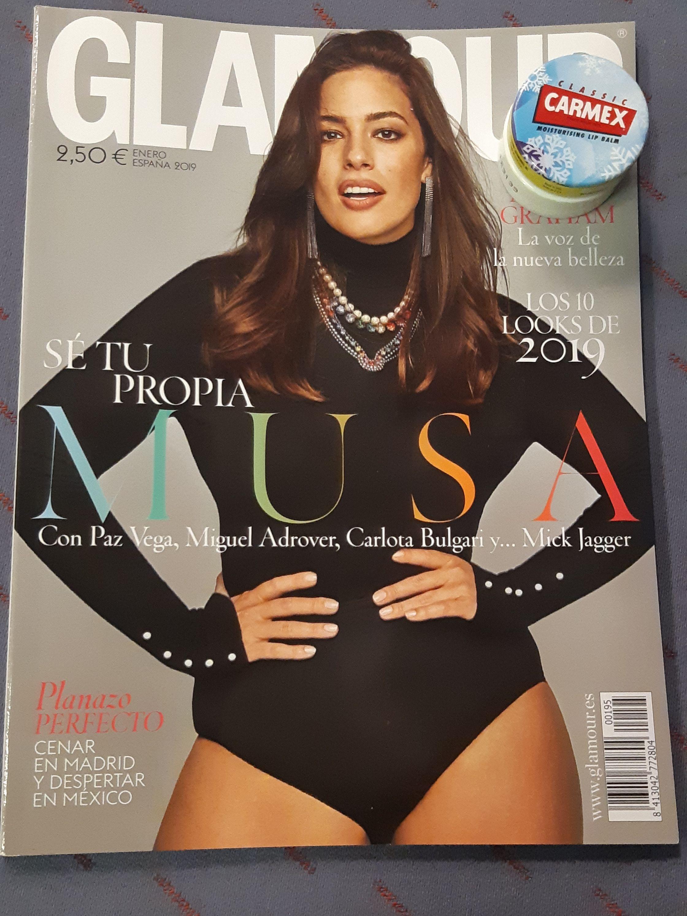 Promoción Carmex con al revista Glamor