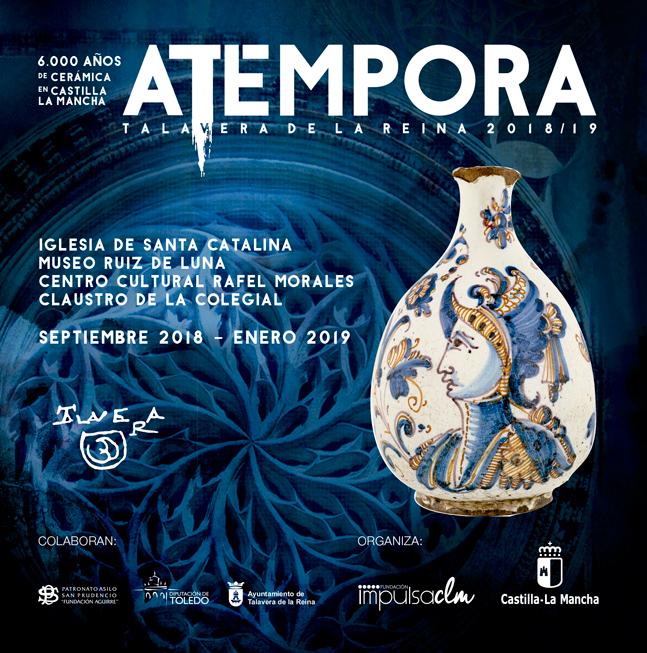 27 enero Puertas abiertas Exposición aTempora 6000 años de cerámica en Talavera de la Reina