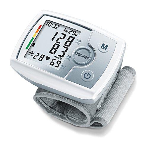 Beurer BC 31 - Tensiómetro de muñeca, indicador OMS, memoria 60 mediciones