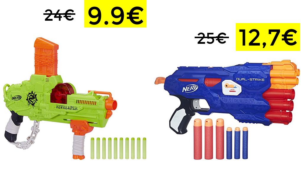 Lanzadardos Nerf desde 9.9€