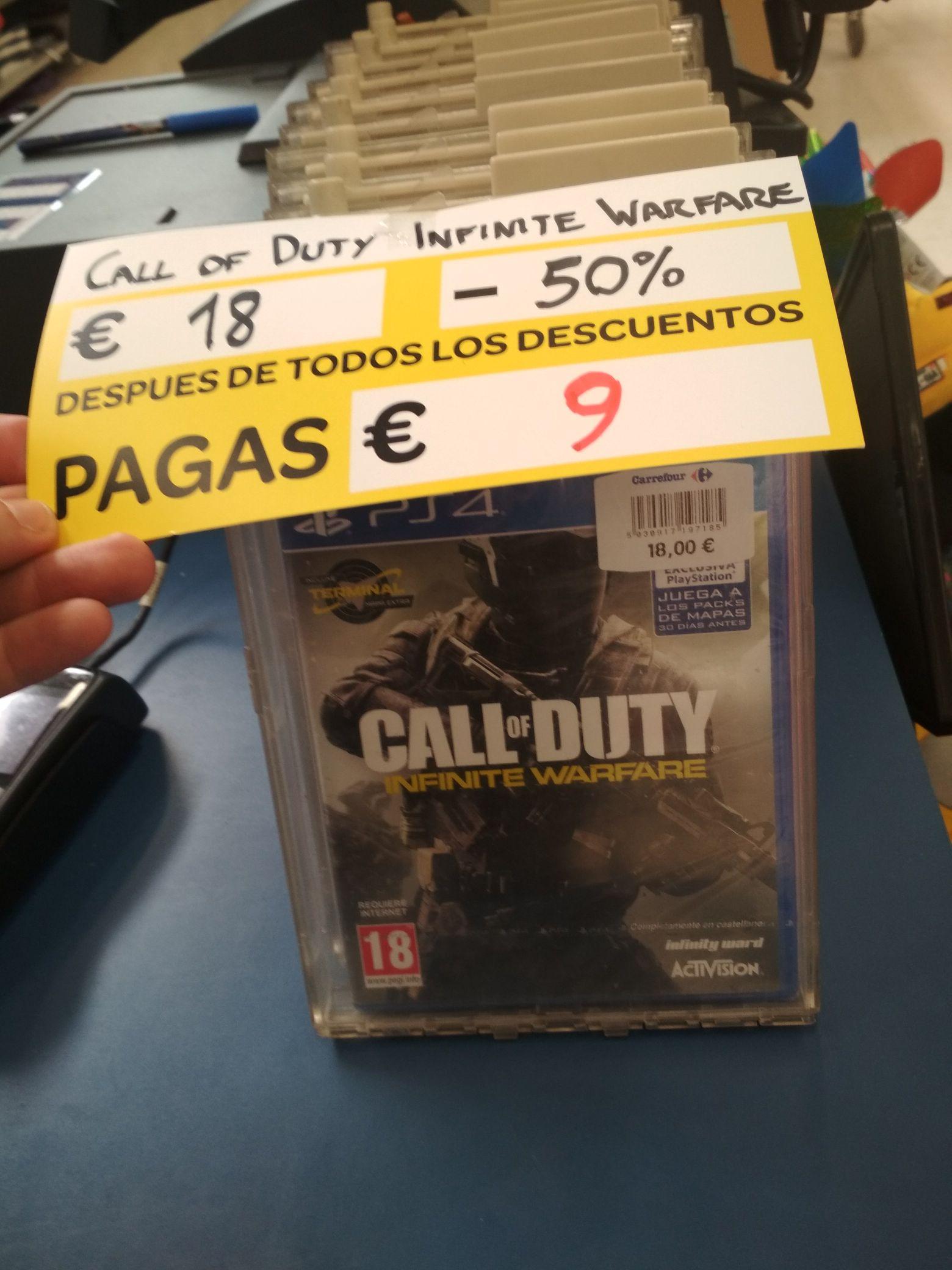 COD Infinite Warfare 9 euros