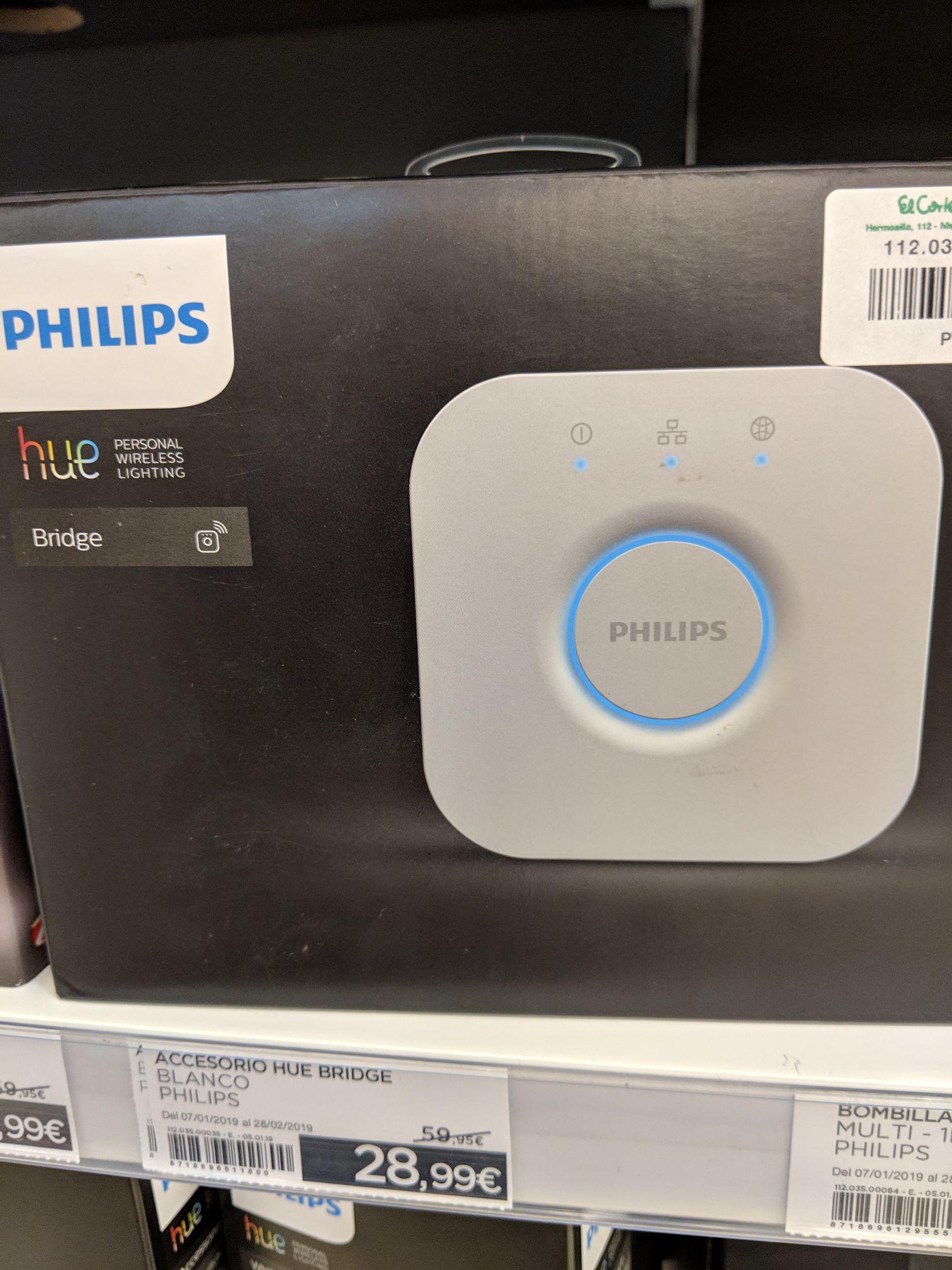 Philips Hue al 50% en tiendas El Corte Inglés