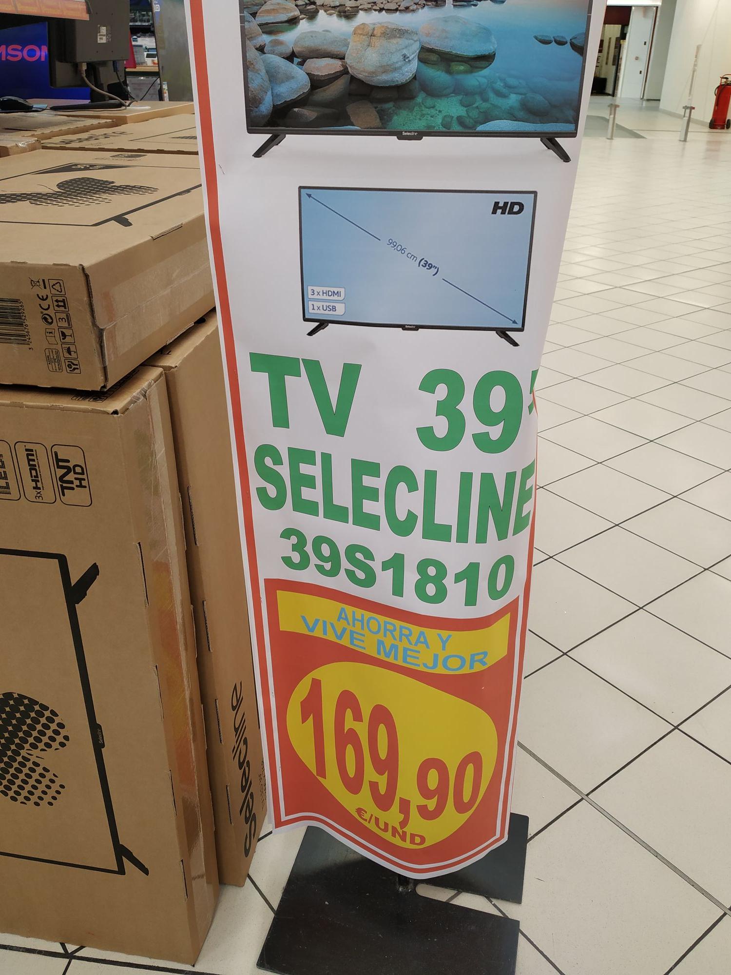 """Tv selecine 39"""" Alcampo Alcalá de Henares"""