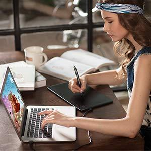 HUION Inspiroy H950P Tableta Gráfica de Dibujo 8 Teclas Rápidas Personalizables