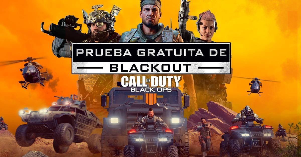 PS4, XBOX ONE Y PC - Call of Duty Black Ops 4: Prueba gratuita de Blackout del 17 al 24 de enero