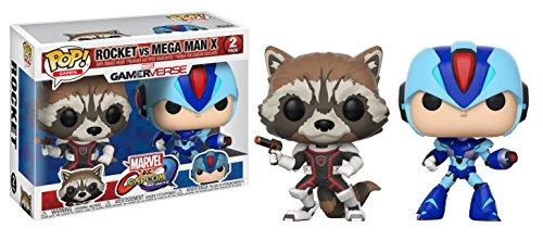 ¡2 Funko Pop Marvel Rocket Vs Megaman por 16,79€! Envío Prime