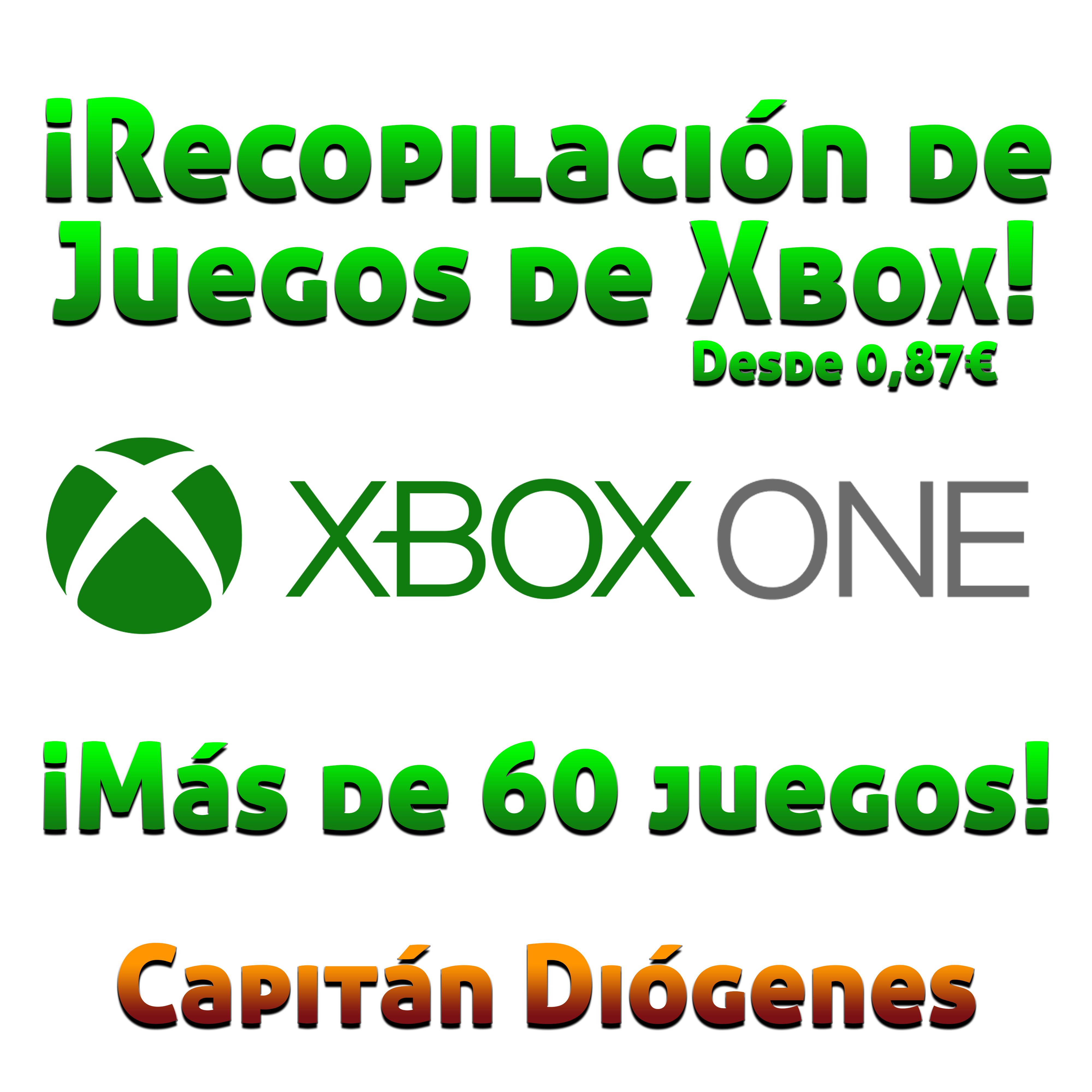 ¡MEGA-RECOPILACIÓN DE JUEGAZOS PARA LA XBOX ONE! (desde 0,87€)