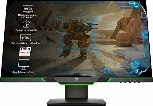 Monitor Full HD HP 25x 144hz 1ms