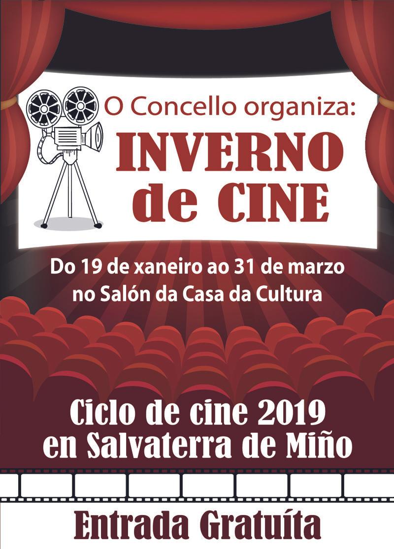 Ciclo cine de invierno  (Marvel, Disney y mas), ...GRATIS -Vámonos a Salvaterra