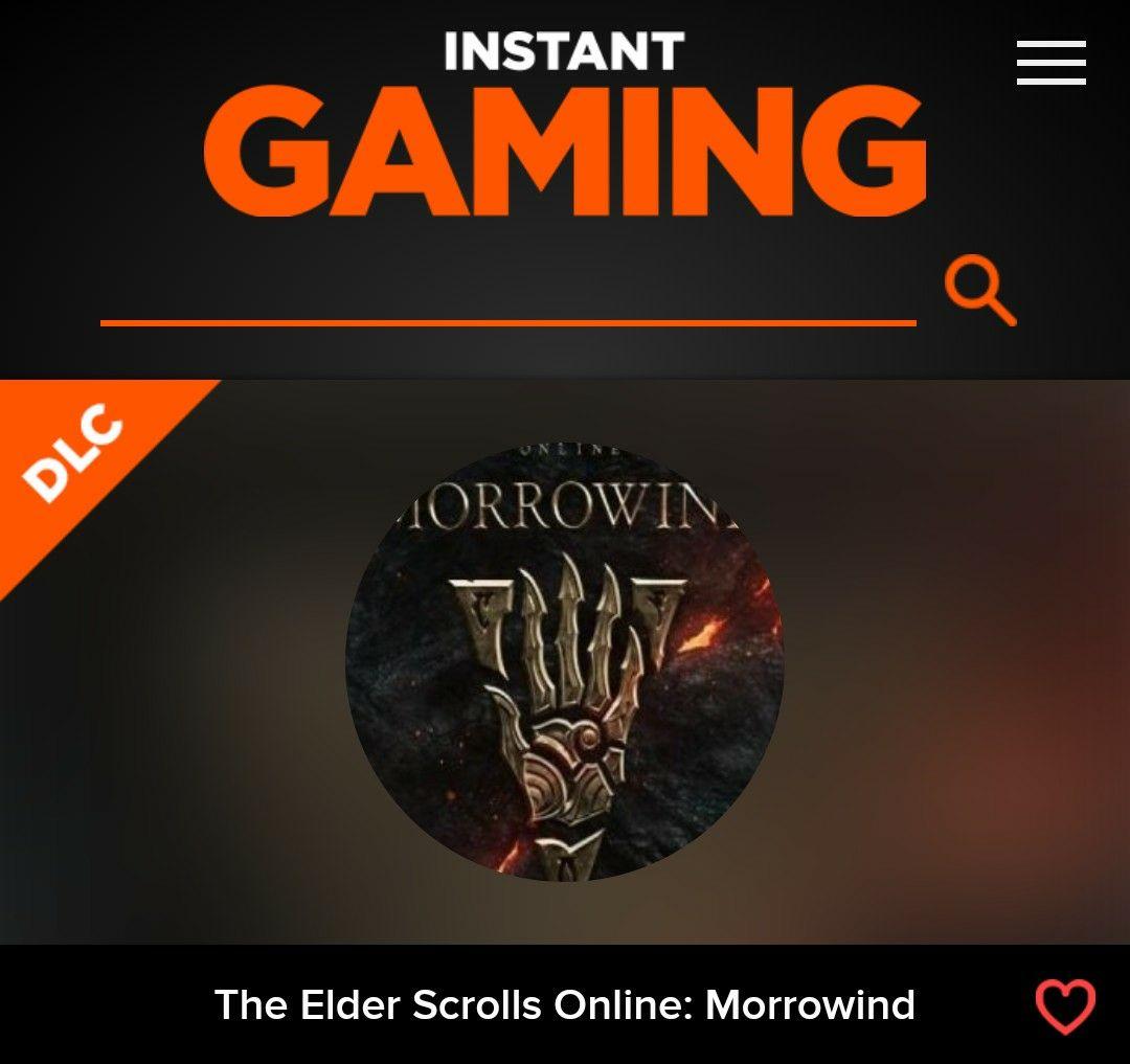 The Elder Scrolls Online: Morrowind (DLC)