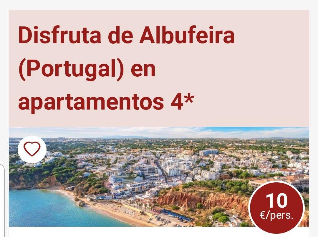 CHOLLAZO EN ALBUFEIRA( PORTUGAL) APARTAMENTOS 10€ PERSONA Y NOCHE.