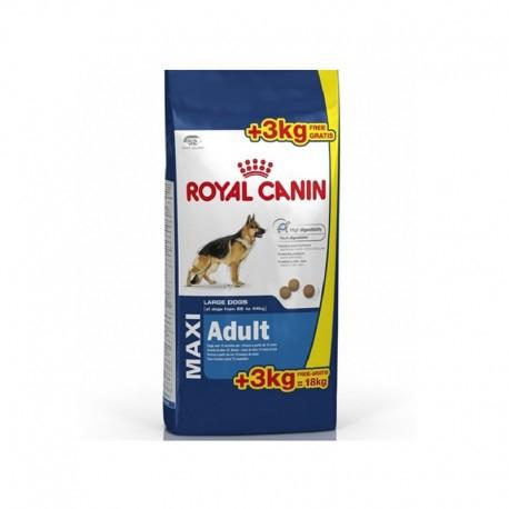 ROYAL CANIN MAXI ADULT SKU : 20m Peso Kg/gr : 15 + 3 Kg