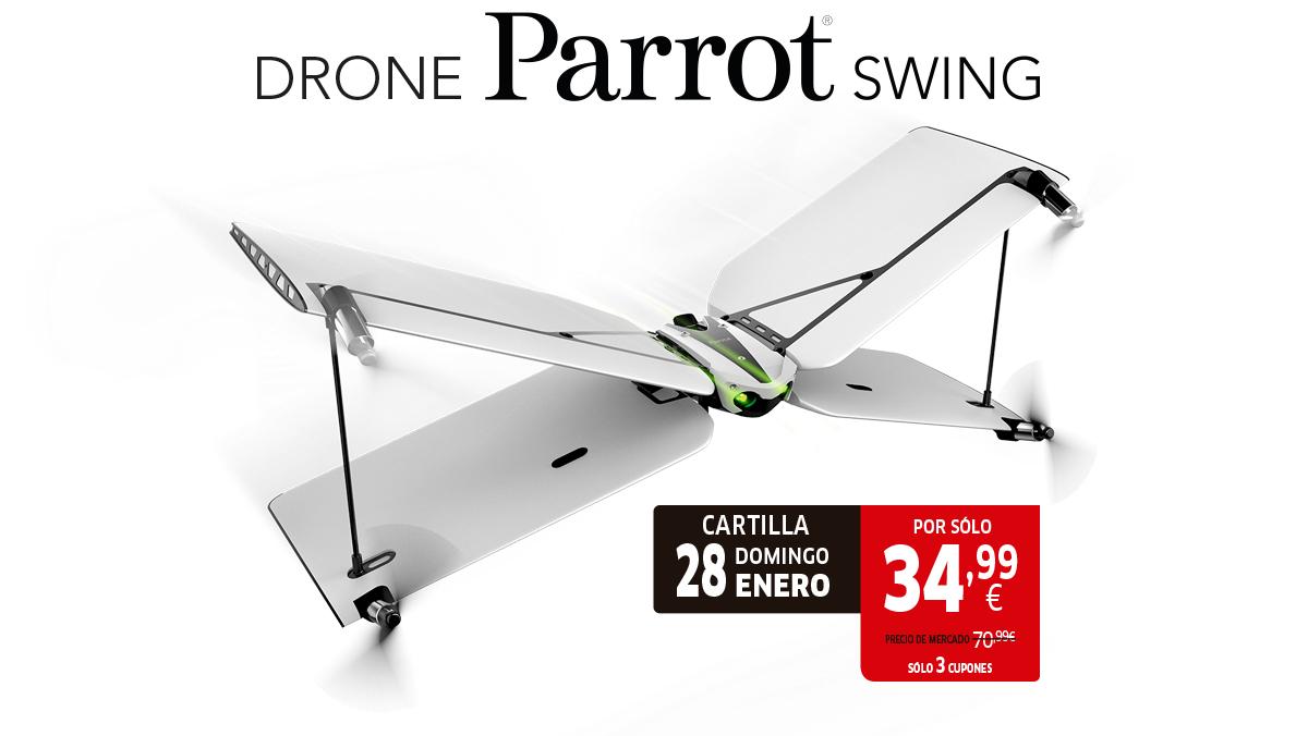 Drone Parrot Swing con Marca