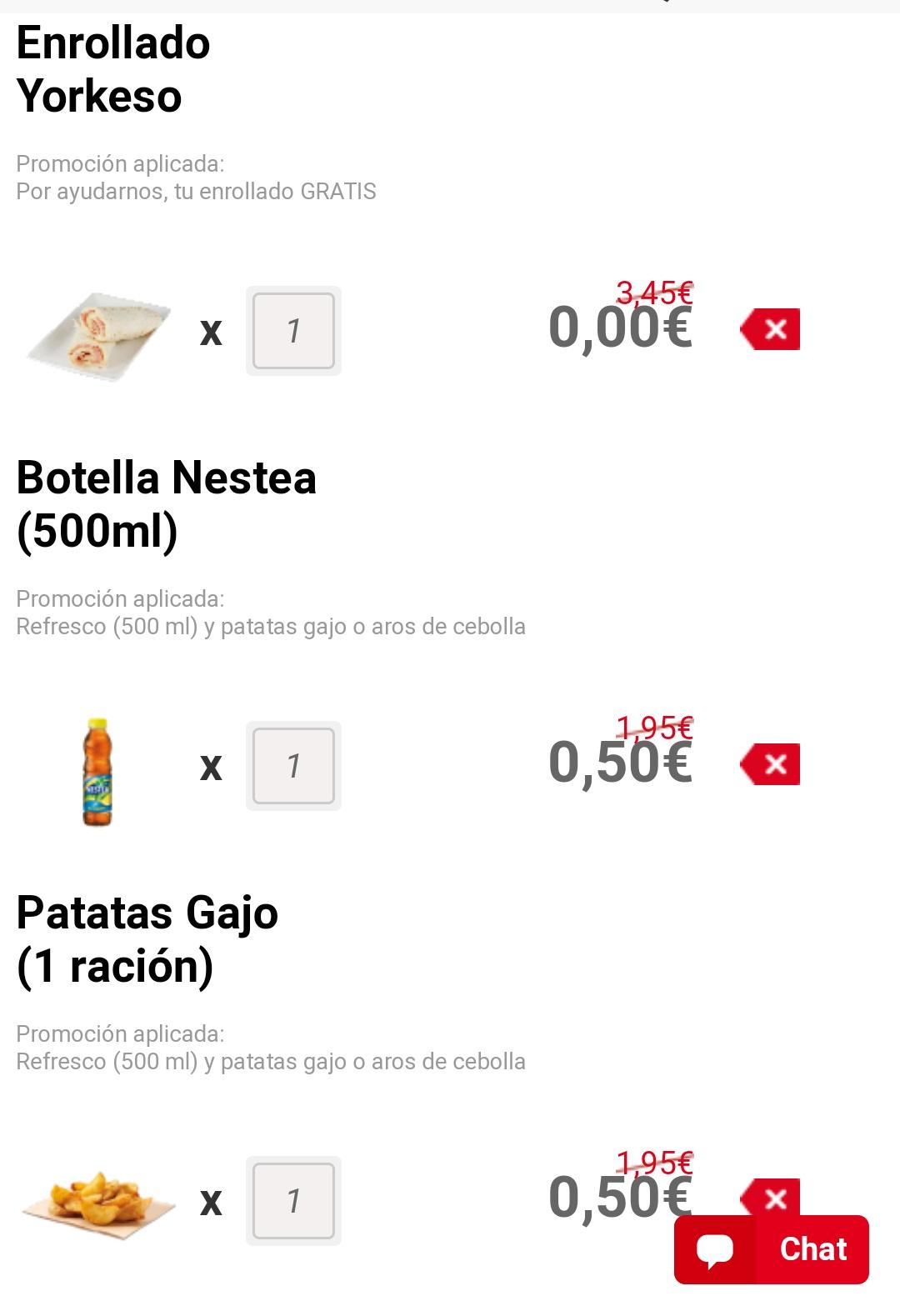 Enrollado Telepizza Gratis