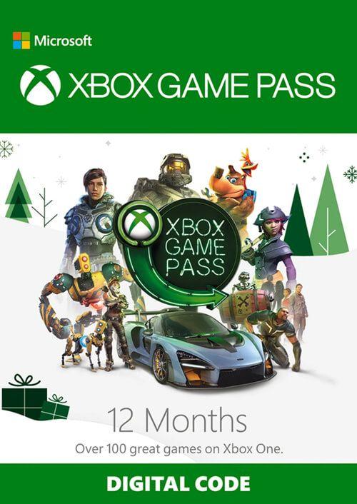 XBOX: 12 MESES DE GAMES PASS