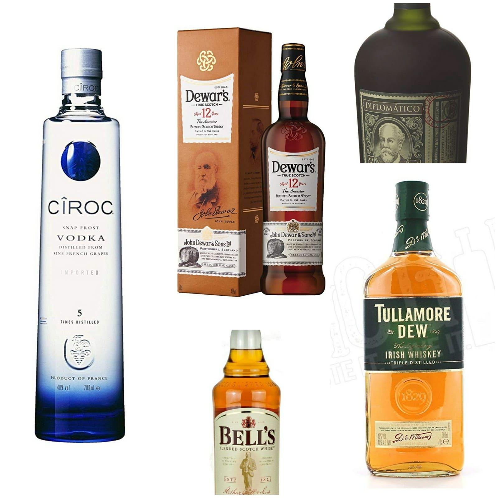 Whisky Bourbon Vodka Ron a mitad de precio en Carrefour Getafe