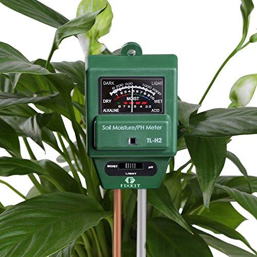 Hidrómetro para humedad, ph y luz solo 5,99€