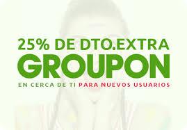 """Groupon - 25% descuento en """"Cerca de tí"""" (Nuevos usuarios)"""