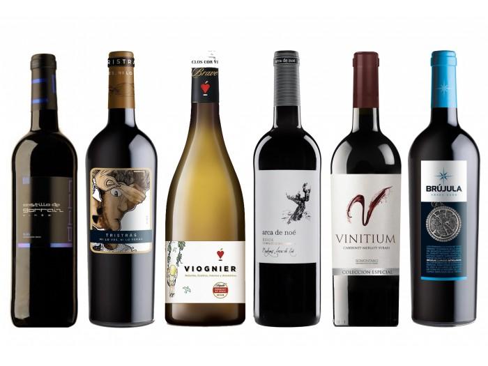 Pack 6 vinos Ofertón Enero solo 19.9€