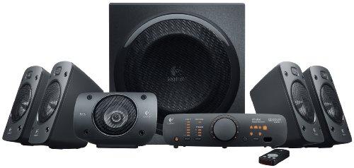Logitech Z906 - Altavoces estéreo, sonido envolvente Dolby 5.1 3D