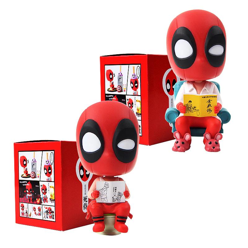 Figura Super Hero Deadpool sofa-wc 8 cms