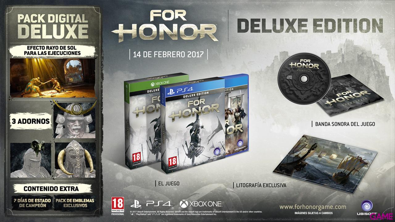 For Honor Edición Deluxe Xbox One/PS4