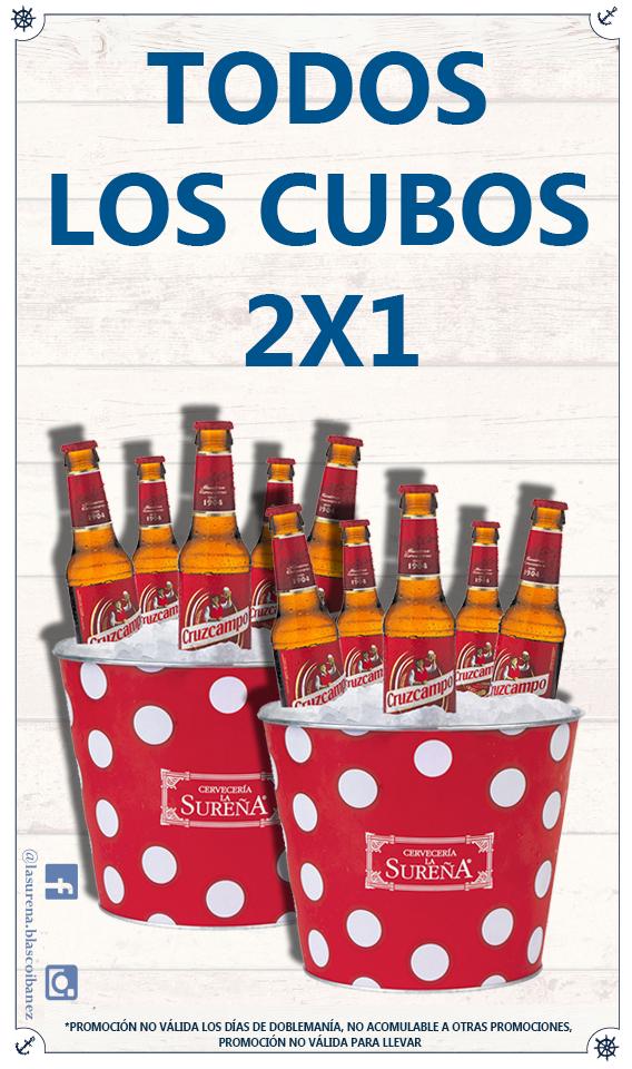 (2x1) En cubos de cerveza // VALENCIA
