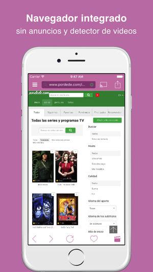 Video Web - Videos en streaming con Chromecast en iOS