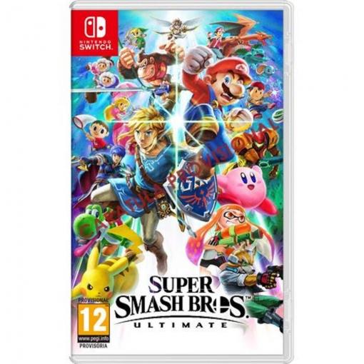 Super Smash Bros Ultimate de Switch en la web de Carrefour a 45 euros