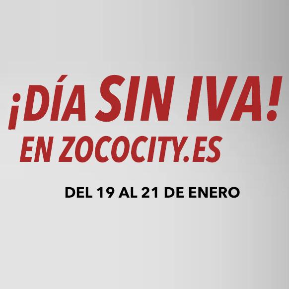 Día sin IVA en Zococity.