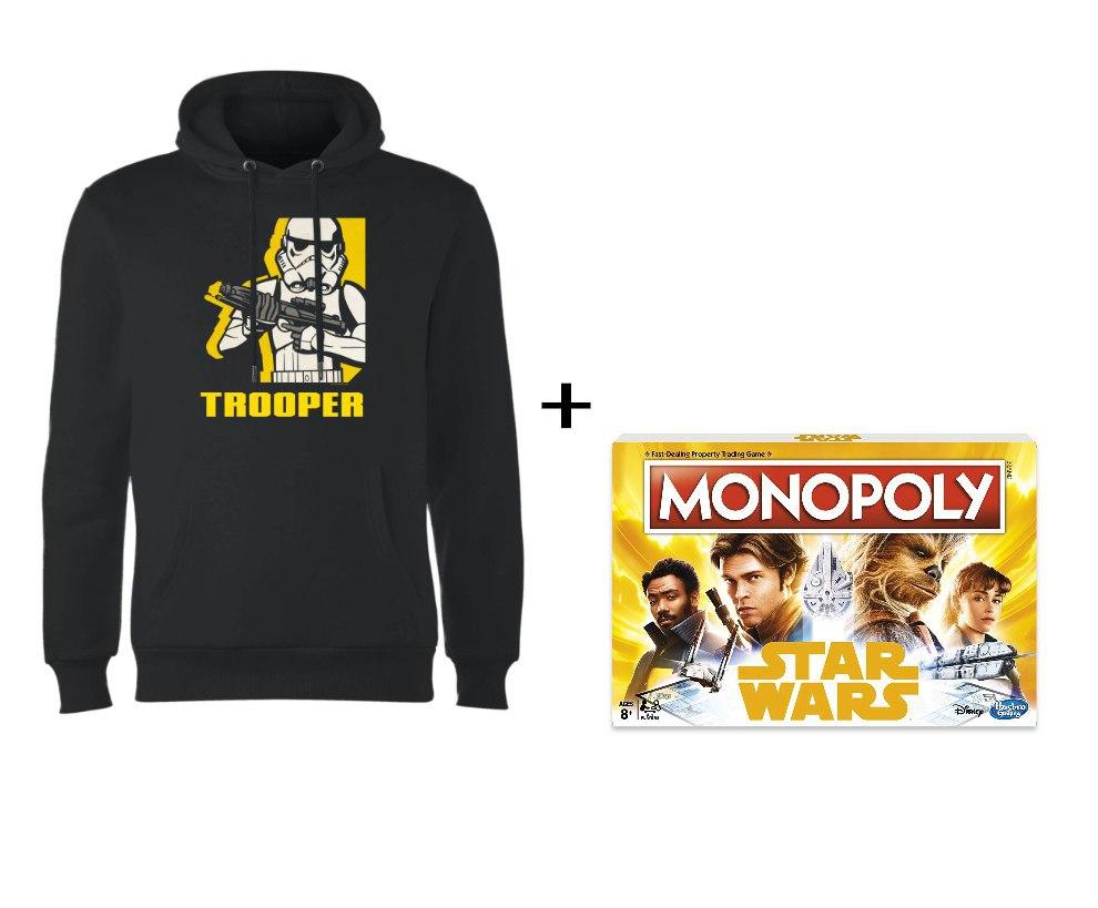 Sudadera + Monopoly Stars Wars solo 30.4€