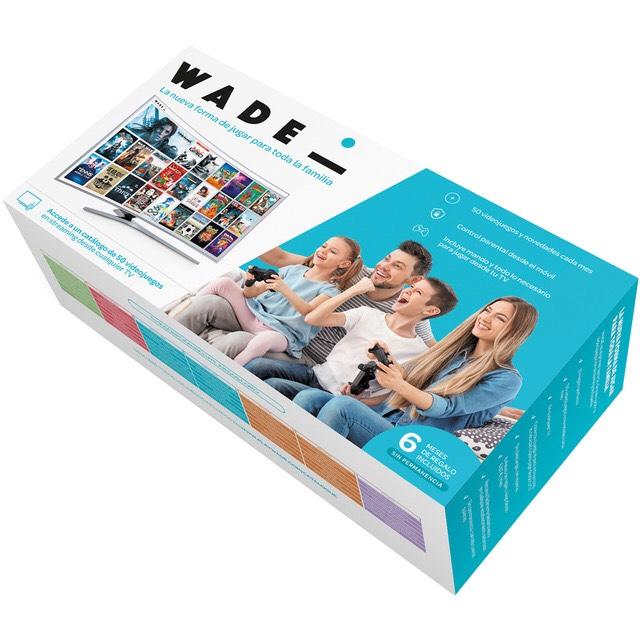 ¡Wade, La consola española con servicio en streaming! Por 82,56€