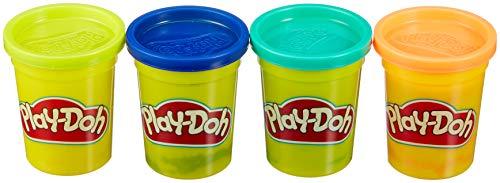 Play-Doh - Pack De 4 Botes (Hasbro E4867ES0) PLUS